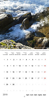 Austrian jewel - The Bregenzerach (Wall Calendar 2019 300 × 300 mm Square) - Produktdetailbild 4