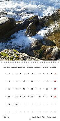 Austrian jewel - The Bregenzerach (Wall Calendar 2019 300 × 300 mm Square) - Produktdetailbild 4