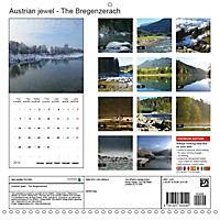 Austrian jewel - The Bregenzerach (Wall Calendar 2019 300 × 300 mm Square) - Produktdetailbild 13