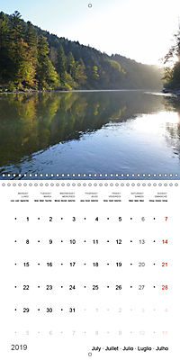 Austrian jewel - The Bregenzerach (Wall Calendar 2019 300 × 300 mm Square) - Produktdetailbild 7