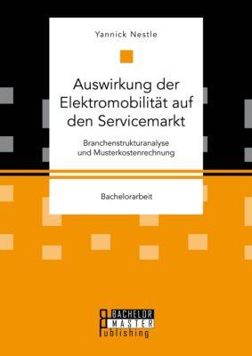 Auswirkung der Elektromobilität auf den Servicemarkt. Branchenstrukturanalyse und Musterkostenrechnung, Yannick Nestle