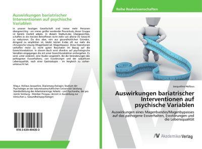 Auswirkungen bariatrischer Interventionen auf psychische Variablen - Jacqueline Hollaus |