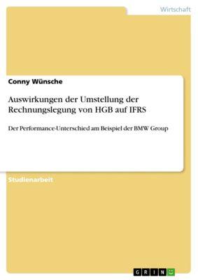 Auswirkungen der Umstellung der Rechnungslegung von HGB auf IFRS, Conny Wünsche