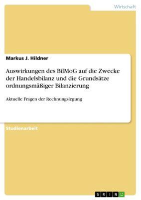 Auswirkungen des BilMoG auf die Zwecke der Handelsbilanz und die Grundsätze ordnungsmässiger Bilanzierung, Markus J. Hildner