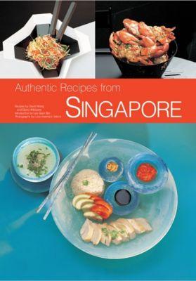 Authentic Recipes of Singapore, David Wong, Djoko Wibisono