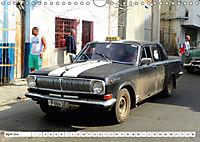 Auto-Legende Wolga - Ein Oldtimer aus der UdSSR auf Kuba (Wandkalender 2018 DIN A4 quer) Dieser erfolgreiche Kalender wu - Produktdetailbild 4