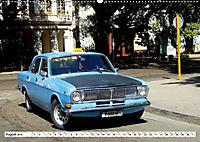 Auto-Legende Wolga - Ein Oldtimer aus der UdSSR auf Kuba (Wandkalender 2019 DIN A2 quer) - Produktdetailbild 8