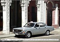 Auto-Legende Wolga - Ein Oldtimer aus der UdSSR auf Kuba (Wandkalender 2019 DIN A2 quer) - Produktdetailbild 10