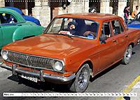 Auto-Legende Wolga - Ein Oldtimer aus der UdSSR auf Kuba (Wandkalender 2019 DIN A2 quer) - Produktdetailbild 3