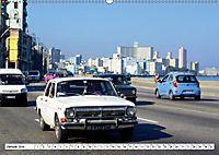 Auto-Legende Wolga - Ein Oldtimer aus der UdSSR auf Kuba (Wandkalender 2019 DIN A2 quer) - Produktdetailbild 1