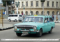 Auto-Legende Wolga - Ein Oldtimer aus der UdSSR auf Kuba (Wandkalender 2019 DIN A2 quer) - Produktdetailbild 6