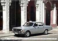 Auto-Legende Wolga - Ein Oldtimer aus der UdSSR auf Kuba (Wandkalender 2019 DIN A3 quer) - Produktdetailbild 10