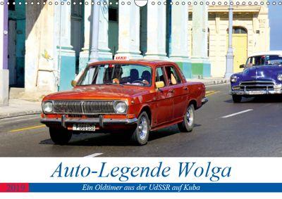 Auto-Legende Wolga - Ein Oldtimer aus der UdSSR auf Kuba (Wandkalender 2019 DIN A3 quer), Henning von Löwis of Menar