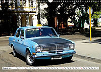 Auto-Legende Wolga - Ein Oldtimer aus der UdSSR auf Kuba (Wandkalender 2019 DIN A3 quer) - Produktdetailbild 8