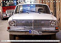 Auto-Legende Wolga - Ein Oldtimer aus der UdSSR auf Kuba (Tischkalender 2019 DIN A5 quer) - Produktdetailbild 2