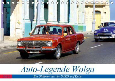 Auto-Legende Wolga - Ein Oldtimer aus der UdSSR auf Kuba (Tischkalender 2019 DIN A5 quer), Henning von Löwis of Menar