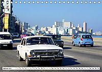 Auto-Legende Wolga - Ein Oldtimer aus der UdSSR auf Kuba (Tischkalender 2019 DIN A5 quer) - Produktdetailbild 1