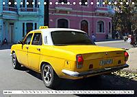 Auto-Legende Wolga - Ein Oldtimer aus der UdSSR auf Kuba (Tischkalender 2019 DIN A5 quer) - Produktdetailbild 7