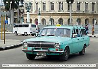 Auto-Legende Wolga - Ein Oldtimer aus der UdSSR auf Kuba (Tischkalender 2019 DIN A5 quer) - Produktdetailbild 6