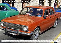 Auto-Legende Wolga - Ein Oldtimer aus der UdSSR auf Kuba (Tischkalender 2019 DIN A5 quer) - Produktdetailbild 3