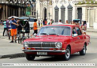 Auto-Legende Wolga - Ein Oldtimer aus der UdSSR auf Kuba (Tischkalender 2019 DIN A5 quer) - Produktdetailbild 9