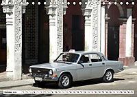Auto-Legende Wolga - Ein Oldtimer aus der UdSSR auf Kuba (Tischkalender 2019 DIN A5 quer) - Produktdetailbild 10