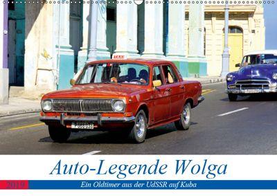 Auto-Legende Wolga - Ein Oldtimer aus der UdSSR auf Kuba (Wandkalender 2019 DIN A2 quer), Henning von Löwis of Menar