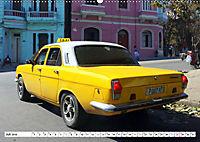 Auto-Legende Wolga - Ein Oldtimer aus der UdSSR auf Kuba (Wandkalender 2019 DIN A2 quer) - Produktdetailbild 7
