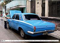 Auto-Legende Wolga - Ein Oldtimer aus der UdSSR auf Kuba (Wandkalender 2019 DIN A2 quer) - Produktdetailbild 5