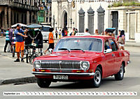 Auto-Legende Wolga - Ein Oldtimer aus der UdSSR auf Kuba (Wandkalender 2019 DIN A2 quer) - Produktdetailbild 9