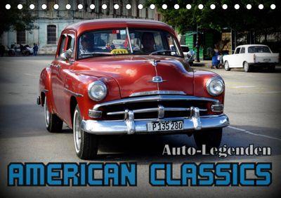 Auto-Legenden: American Classics (Tischkalender 2019 DIN A5 quer), Henning von Löwis of Menar