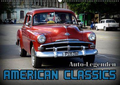 Auto-Legenden: American Classics (Wandkalender 2019 DIN A2 quer), Henning von Löwis of Menar