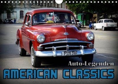 Auto-Legenden: American Classics (Wandkalender 2019 DIN A4 quer), Henning von Löwis of Menar