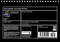 Auto-Legenden - Ein schöner Rücken... (Tischkalender 2019 DIN A5 quer) - Produktdetailbild 13