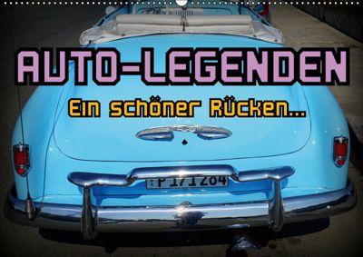Auto-Legenden - Ein schöner Rücken... (Wandkalender 2019 DIN A2 quer), Henning von Löwis of Menar, Henning von Löwis of Menar