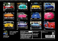 Auto-Legenden - Ein schöner Rücken... (Wandkalender 2019 DIN A3 quer) - Produktdetailbild 13