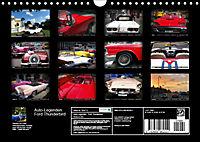 Auto-Legenden: FORD THUNDERBIRD (Wandkalender 2019 DIN A4 quer) - Produktdetailbild 13