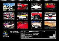 Auto-Legenden: FORD THUNDERBIRD (Wandkalender 2019 DIN A2 quer) - Produktdetailbild 13