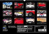 Auto-Legenden: FORD THUNDERBIRD (Wandkalender 2019 DIN A3 quer) - Produktdetailbild 13