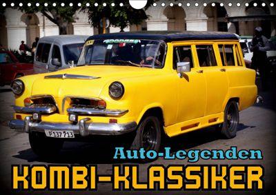 Auto-Legenden - Kombi-Klassiker (Wandkalender 2019 DIN A4 quer), Henning von Löwis of Menar
