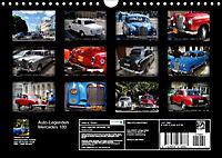 Auto-Legenden: Mercedes 180 (Wandkalender 2019 DIN A4 quer) - Produktdetailbild 13