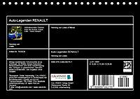 Auto-Legenden: RENAULT (Tischkalender 2019 DIN A5 quer) - Produktdetailbild 13