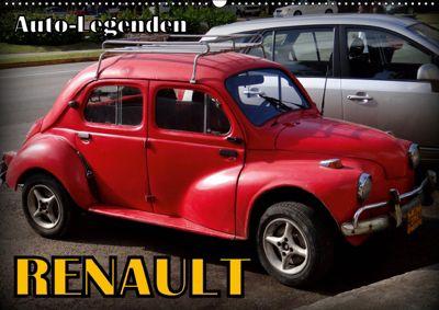 Auto-Legenden: RENAULT (Wandkalender 2019 DIN A2 quer), Henning von Löwis of Menar, Henning von Löwis of Menar