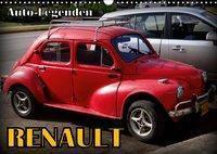 Auto-Legenden: RENAULT (Wandkalender 2019 DIN A3 quer), Henning von Löwis of Menar, Henning von Löwis of Menar