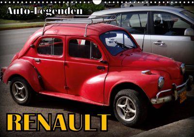 Auto-Legenden: RENAULT (Wandkalender 2019 DIN A3 quer), Henning von Löwis of Menar