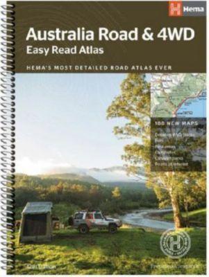 Autoatlas Australia Easy Read & 4WD