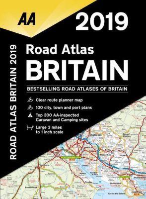 Autoatlas Road Atlas Britain 2019, AA Publishing