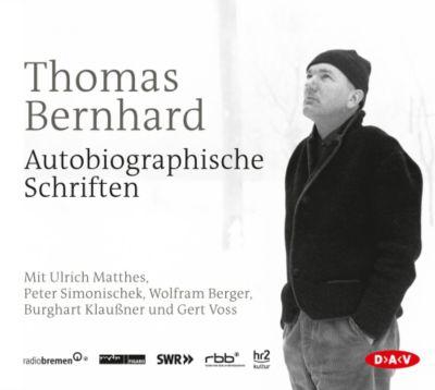 Autobiographische Schriften, 15 Audio-CDs, Thomas Bernhard