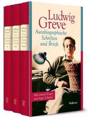 Autobiographische Schriften und Briefe, 3 Bde. - Ludwig Greve pdf epub