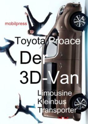 Automodelle: Toyota Proace Der 3D-Van